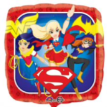"DC Super Hero Girls Foil Balloon (18"") 1pc"